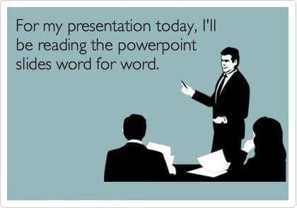 read slides