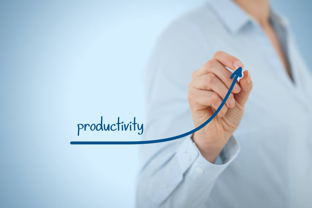 Productivity increase