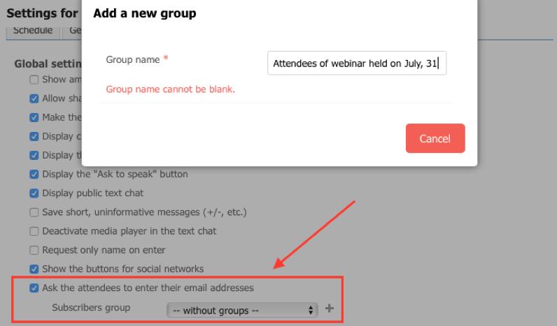 subscribers database