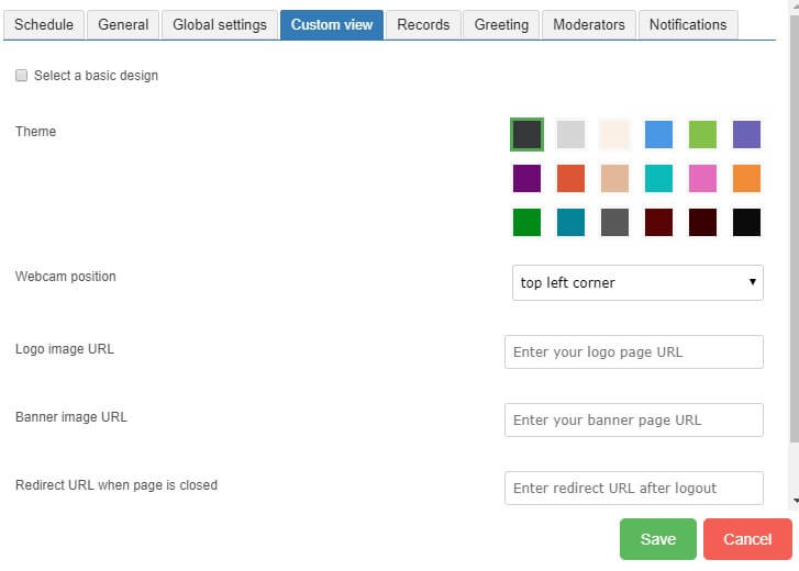 scheduler custom view tab