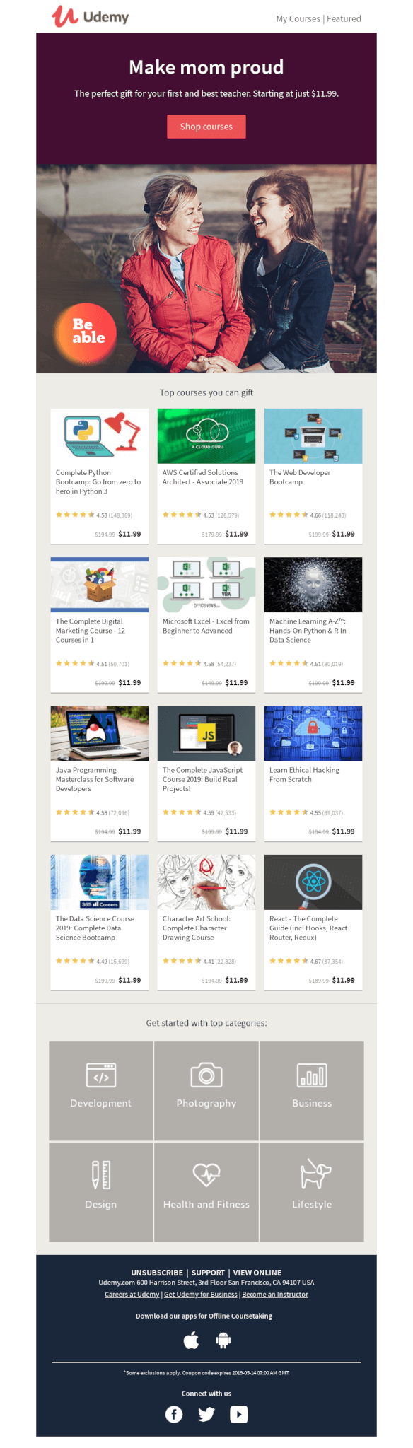 Udemy_email