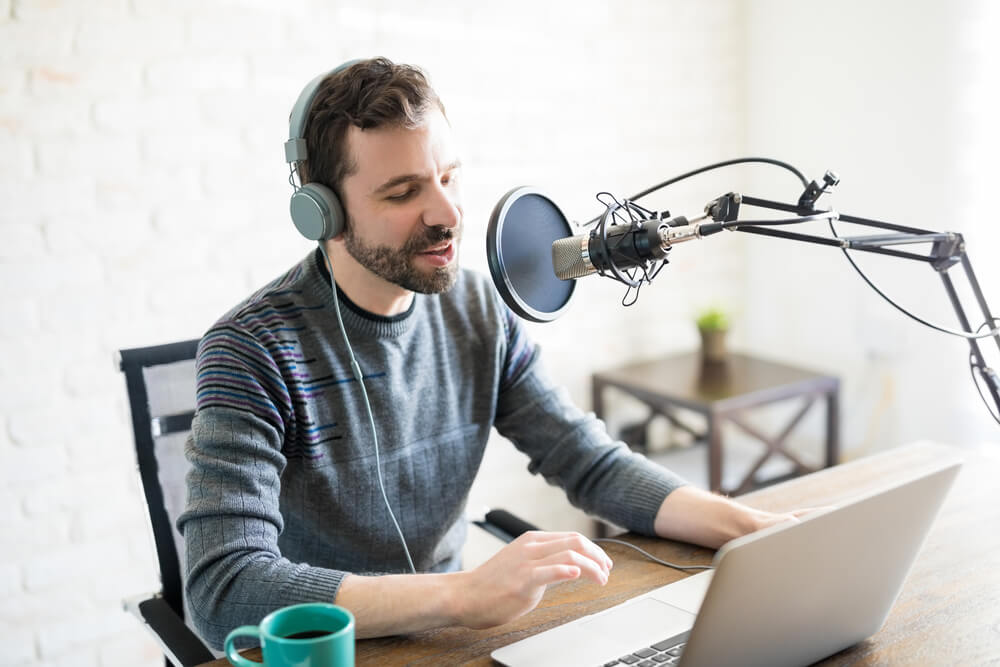 A webinar or a podcast