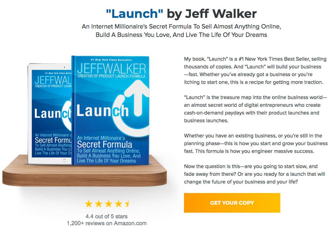 Jeff Walker book