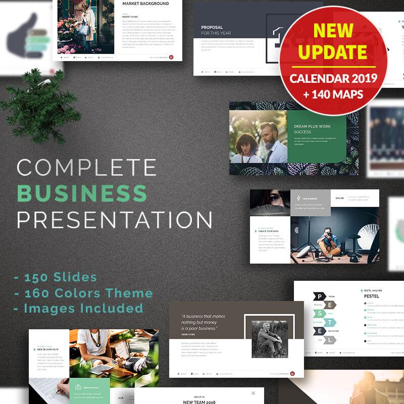 Complete business presentation