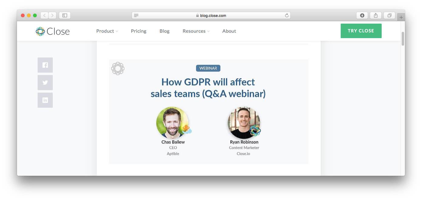 QA webinar