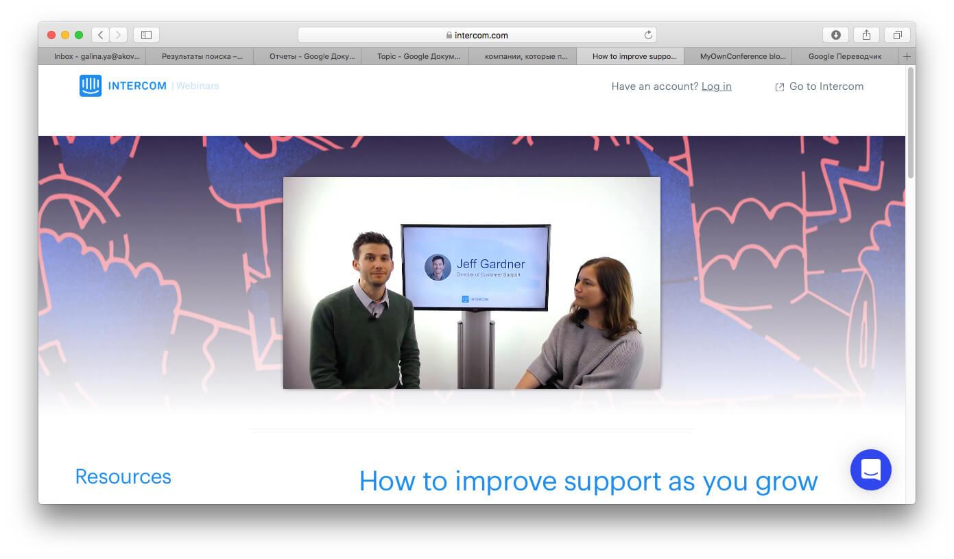 webinar face-to-face