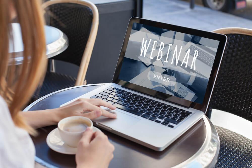promote webinar