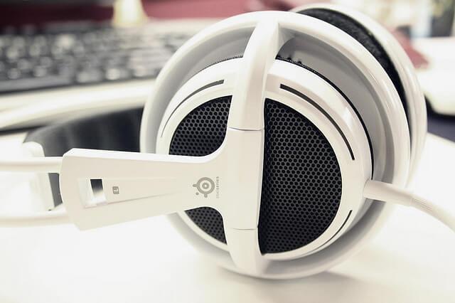 Mikrofon i słuchawki