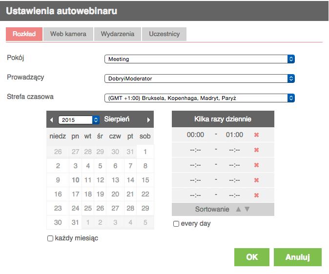 Autowebinar MyOwnConference
