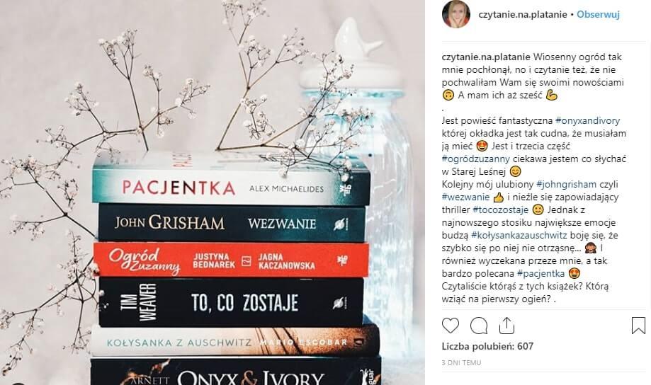 stosowanie hashtagów na Instagramie