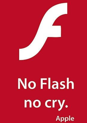 no flash no cry