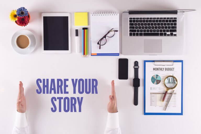 storytelling na webinarze