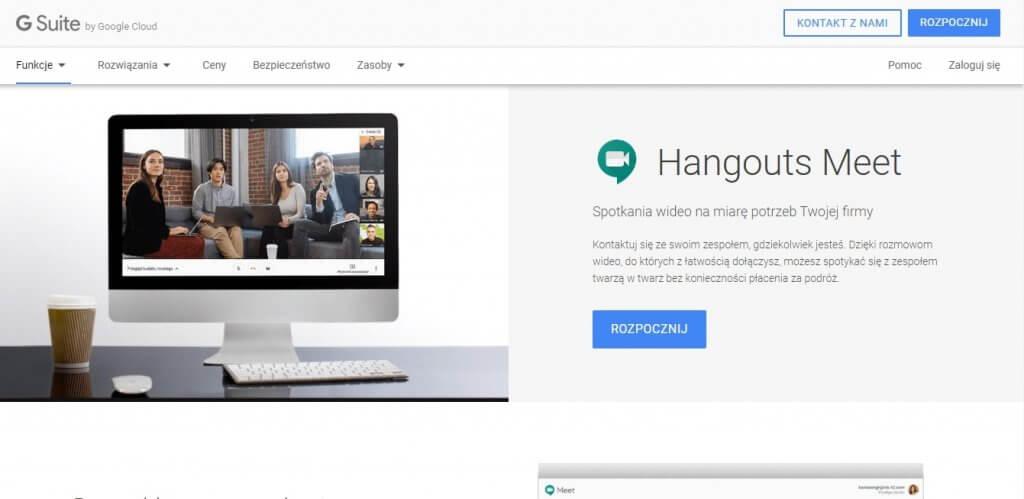 hangouts meet zamiennik