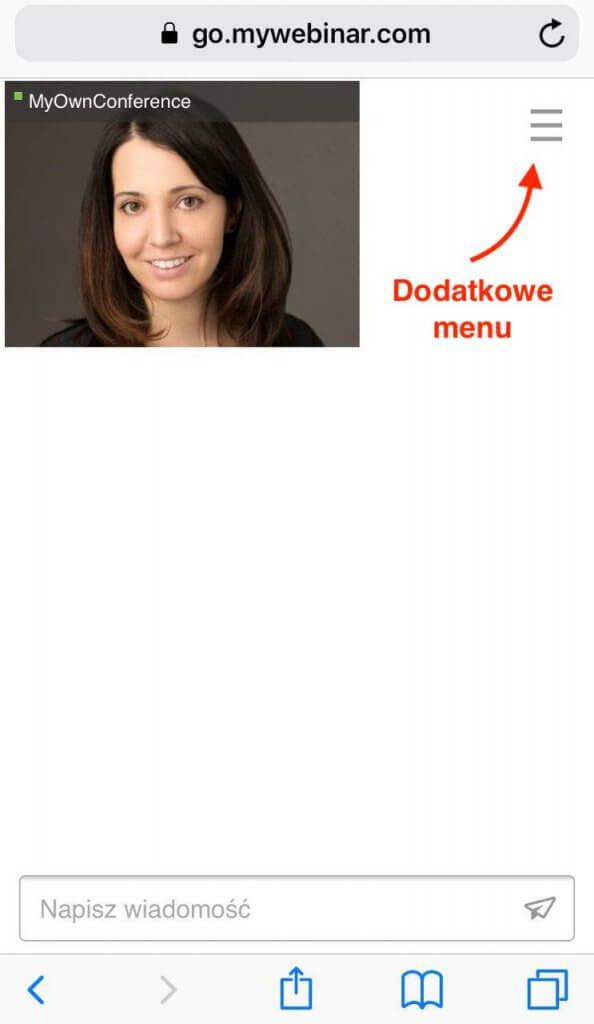 dodatkowe menu