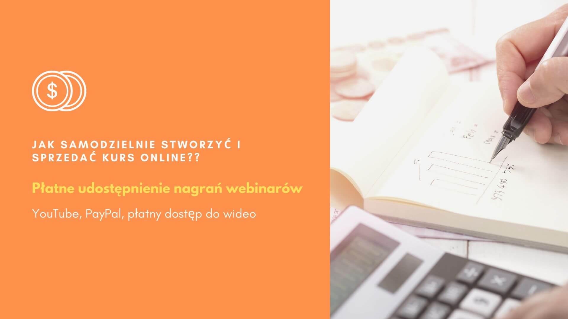 Jak sprzedać kurs online i webinary