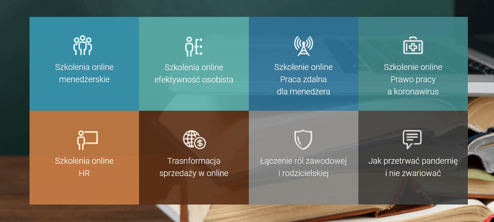 Webinary na kursach IT