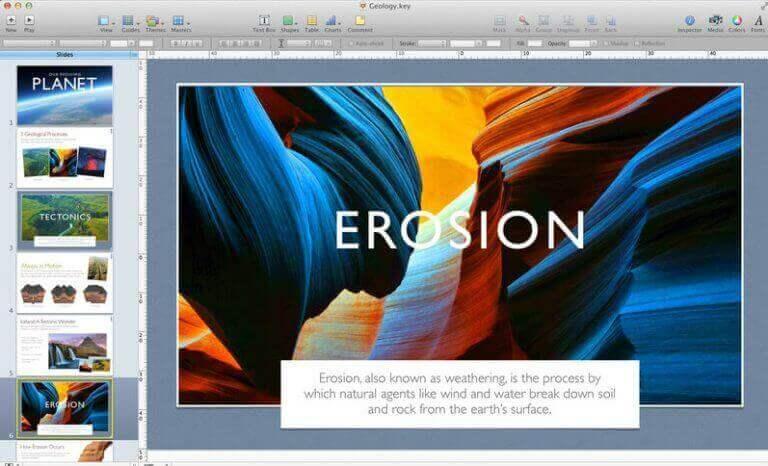 слайды keynote