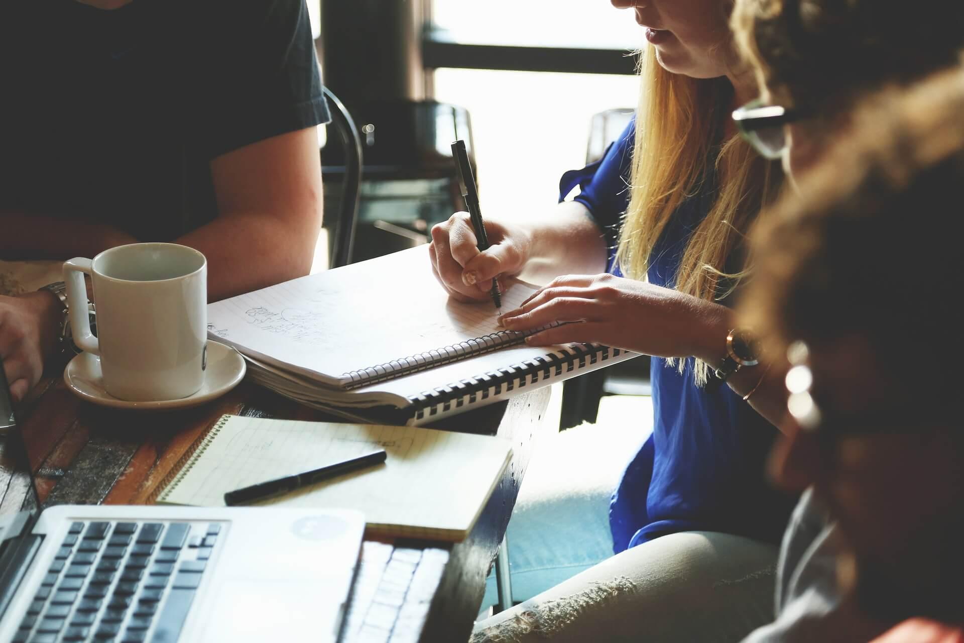 team for webinar
